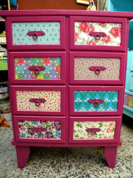 Fuccia muebles originales y reciclados pinterest - Muebles originales reciclados ...