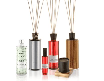 finest room fragrances / LEGNO - linari switzerland by eicher ambiente