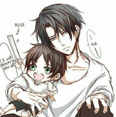 Levi / Eren.