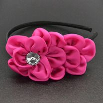 hot pink with black band