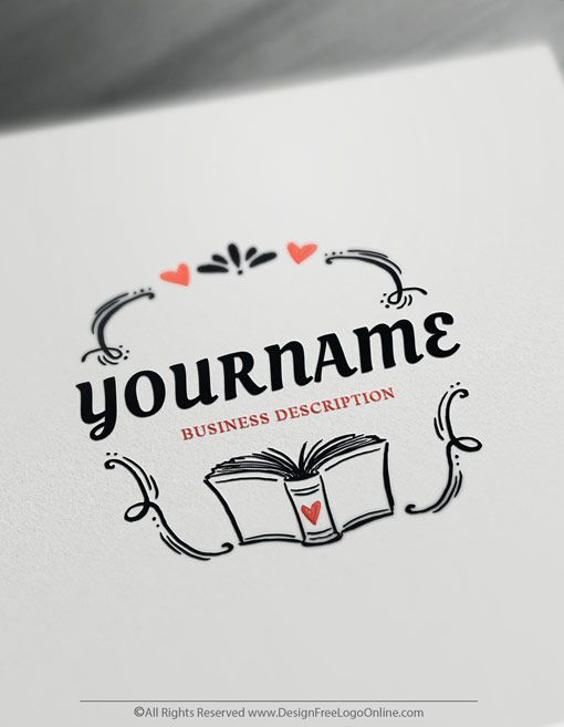 Free Education Logo Maker Create Your Own Book Logo Design With