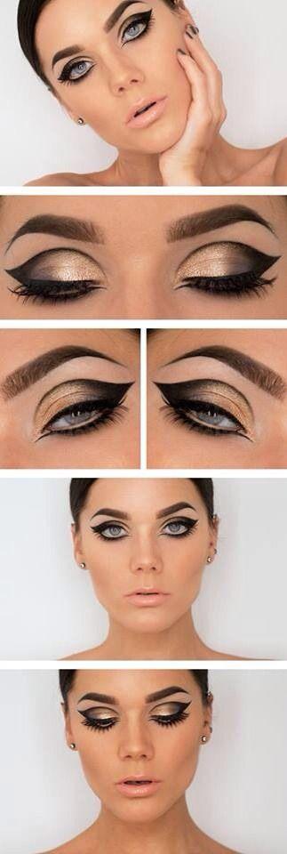 Make Up de ojos súper definidos en la profundidad