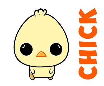 Learn how to draw cute baby chibi chicks for easter or for Easy spring pictures to draw