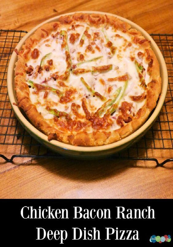 Deep dish, Bacon and Gluten on Pinterest