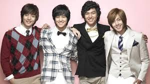 Boys over Flowers.....melodrama F4  and the quintessential flower boys