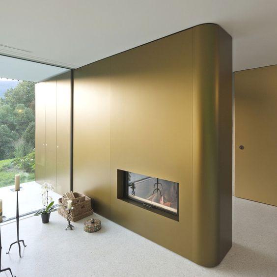 Luxurious House of Lake Biel, Switzerland by Bauzeit Architekten #architecture