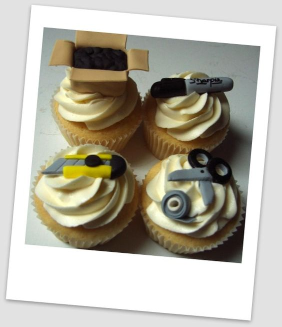 Perfect #cupcakes for a #moving/ #housewarming party!
