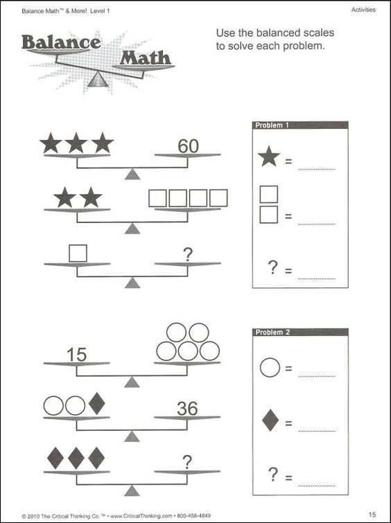 solving two step equations with balancing scales worksheet – Math Worksheets Two Step Equations