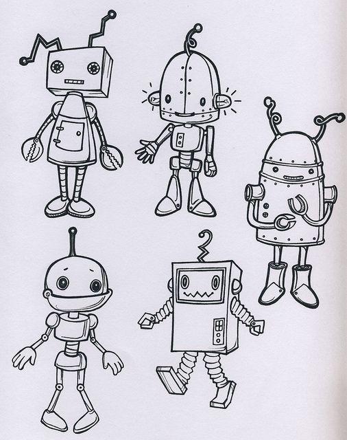 robots by mytinystar, via Flickr