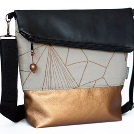 schwarz kupfer sand - Hansedelli - Design für Textil und Grafik