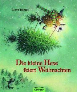 """Eine Hexe, zwar noch mit einer viel zu langen Nase gezeichnet, aber ansonsten behutsam und liebevoll in eine Geschichte vom Tannenbaum eingebettet, den die kleine Hexe zu Weihnachten ins Haus holt. Zitat Amazon: """"Ein weiteres wunderschönes Kinderbuch der leider viel zu früh verstorbenen Lieve Baeten"""". Ein Link auf die Autoren-Seite bei Amazon. http://www.amazon.de/Lieve-Baeten/e/B001HPLTKC/ref=sr_tc_2_0?qid=1448383768&sr=8-2-ent   Lieve Baeten kam 2001 bei einem Autounfall ums Leben."""