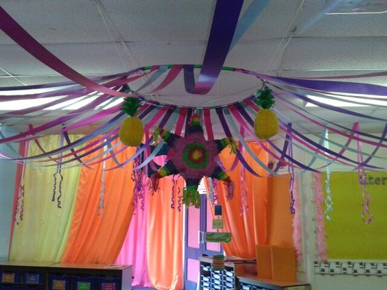 Classroom Ceiling Ideas : Tent ceiling decoration classroom theme pinterest