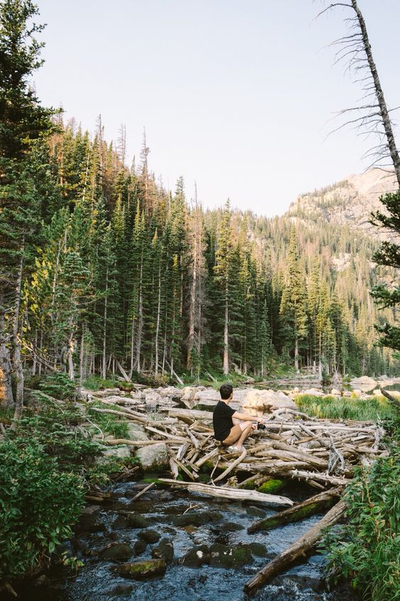 Hike to Emerald lake in RMNP | August 2015