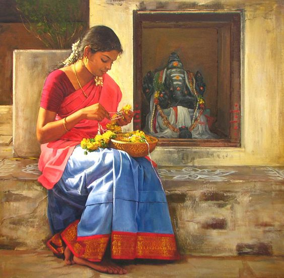 Amazing Oil Painting by South Indian Legend Ilaiyaraaja (12):