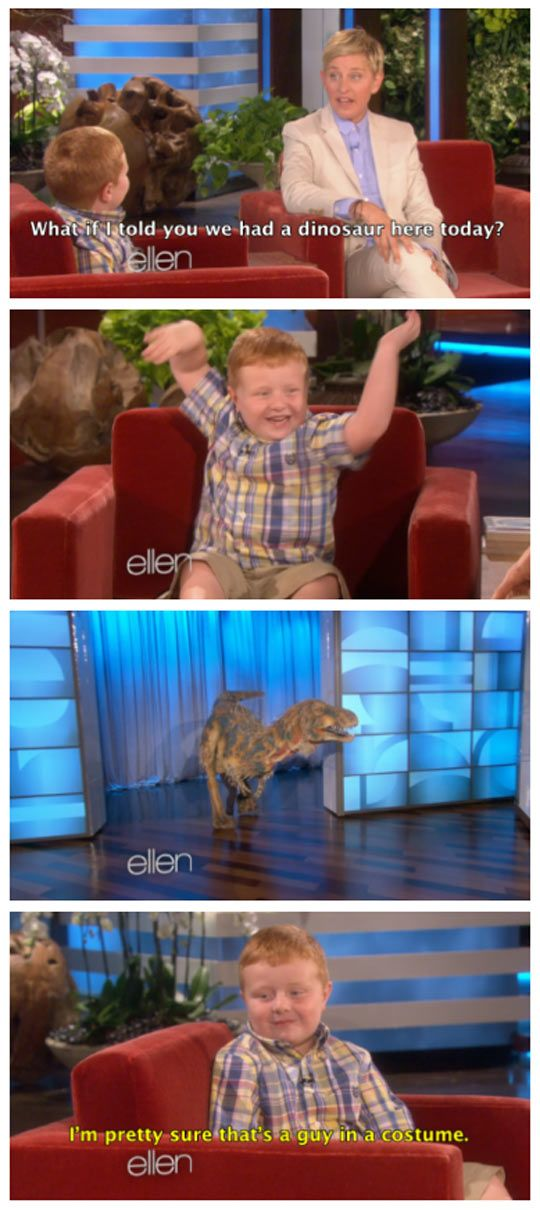This Must Be The First Time Ellen Has Disappointed Someone << and I am pretty sure that's Tom xD