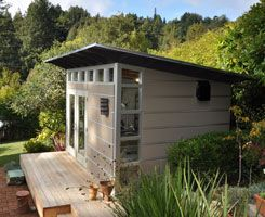 Design Build Your Own Modern Backyard Shed or Studio 3D Prefab