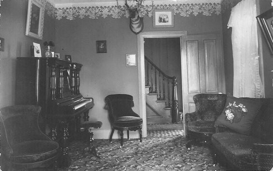 1800s living room piano the chair and to the on 10526