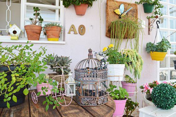 O jardim secreto da Amanda Mol.