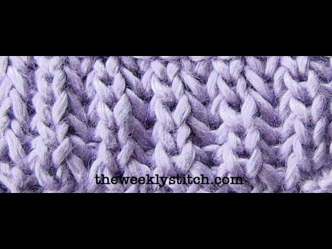 Stitches, Videos and Tuto tricot on Pinterest