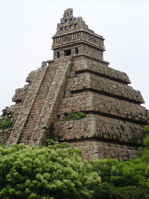 """""""If you cannot understand that there is something in man which responds to the challenge of this mountain and goes out to meet it, that the struggle is the struggle of life itself upward and forever upward, then you won't see why we go."""" ~ Edmund Hillary ** Mayan Temple <3 lis"""