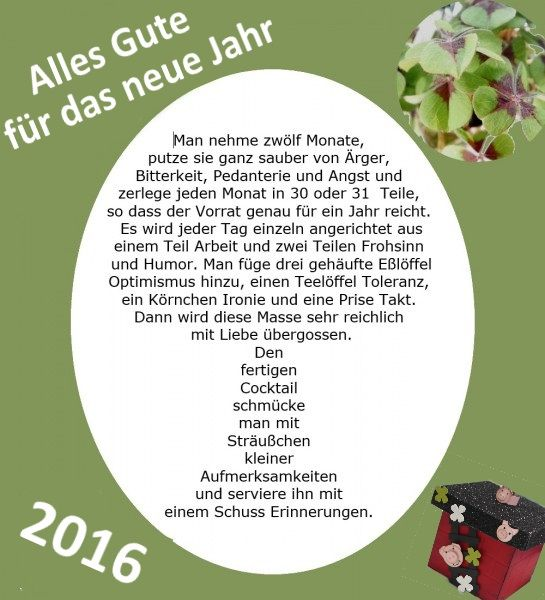 Ich Wünsche Dir Ein Frohes Neues Jahr Das Könnte Dich Auch  Interessieren:Guten Rutsch Ins Neue JahrBasteltipp Mit Jahr Voller  FarbenServietten Falten Zum ...