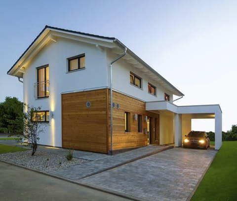 Einfamilienhaus Haas Mh Mannheim J 159 Von Haas Haus Fertighaus De In 2020 Moderne Hauser Baustil Haus