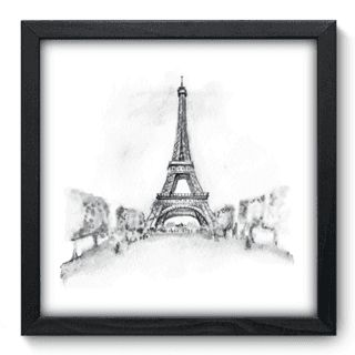 Quadro Decorativo - Torre Eiffel - 137qdm