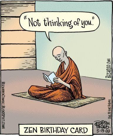 Yoga Funnies: Zen Birthday Card… From the new Downdog Diary Yoga Blog found exclusively at DownDog Boutique. DownDog Diary brings together yoga stories from around the web on Yoga Lifestyle... Read more at DownDog Diary: