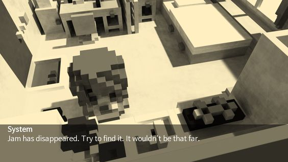 Voxel World of the Where is my cranberry jam?