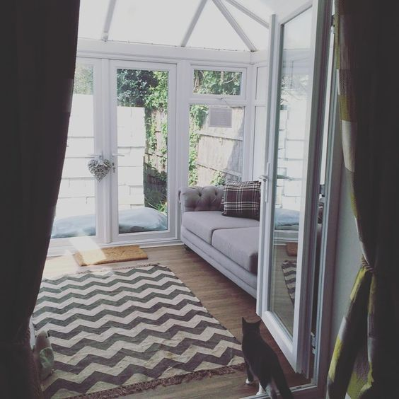 Victoria Rose on Instagram: Men's projects finished finally have my sun room back!! To sit in...