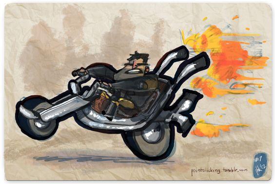 Use Verb on Noun, Ben Throttle - Full Throttle (1995) By the legend...