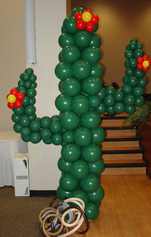 balloon cactus Festivities Pinterest