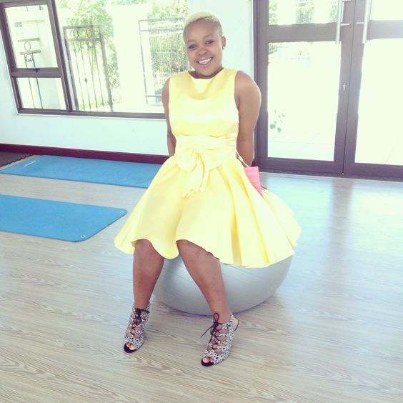 Favourite yellow doll dress...