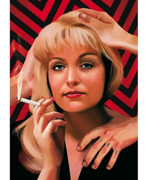 Affiche Twin Peaks - Laura Palmer