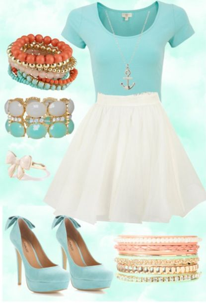 My polyvore outfit :) ---> Pastels | My polyvore account is @lizziemeijer: