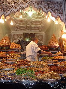 Beautiful Desserts in Morocco...can't wait~