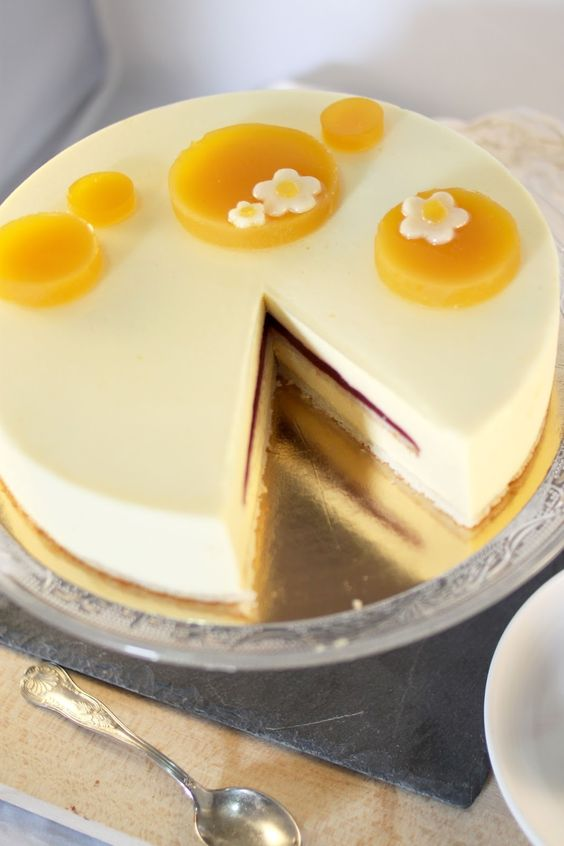 Recette Wedding Cake Aux Fruit De La Passion