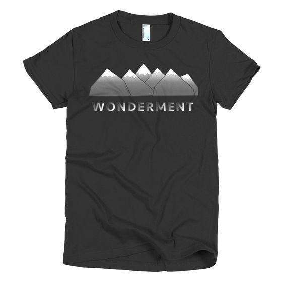 """""""Wonderment"""" short sleeve women's t-shirt"""