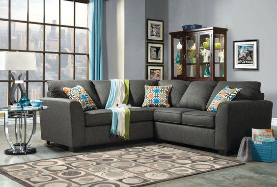 Sectional Sofa SM-3035SF Playa Collection - Pearl Igloo