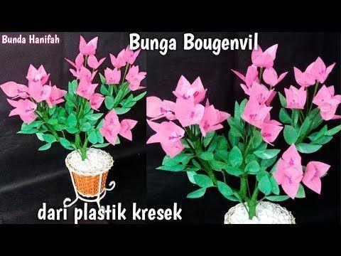 Cara Membuat Bunga Dari Plastik How To Make Flower From Plastic