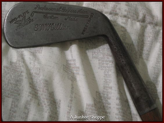 KRO FLITE Hickory Wood Shaft  Sweetspot No 1 Golf Club IMG4499  http://ajunkeeshoppe.blogspot.com/