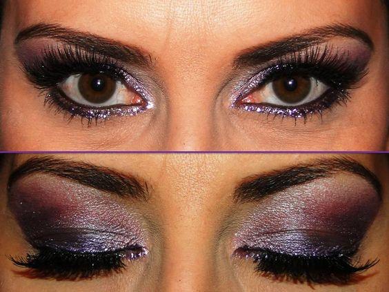 Maquiagem feita por Eliana Gonçalves Dias