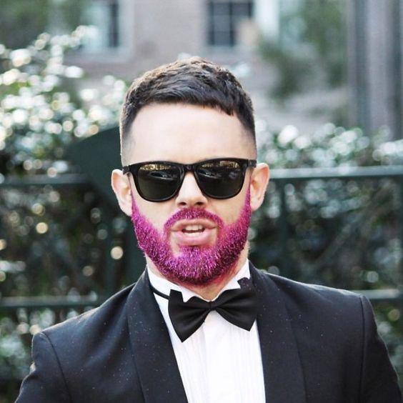 #Glitter beards
