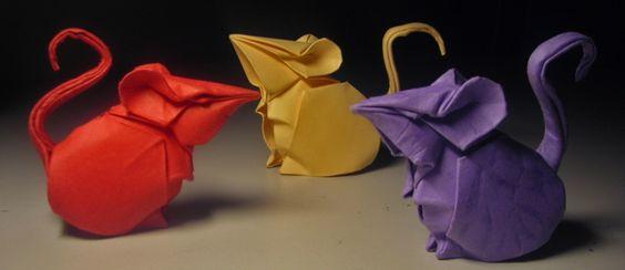 As esculturas em origami do artista Hoàng Tiến Quyết