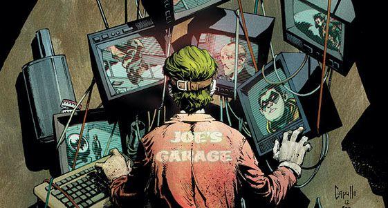 Recorte de la portada del cómic Batman #14 (noviembre de 2012), por Greg Capullo
