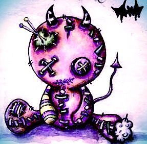 Little voodoo doll I want as a tattoo