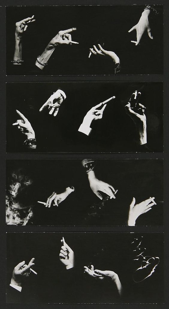 saloandseverine:  Hands montageMan RayComposed by Peter Grassman1964