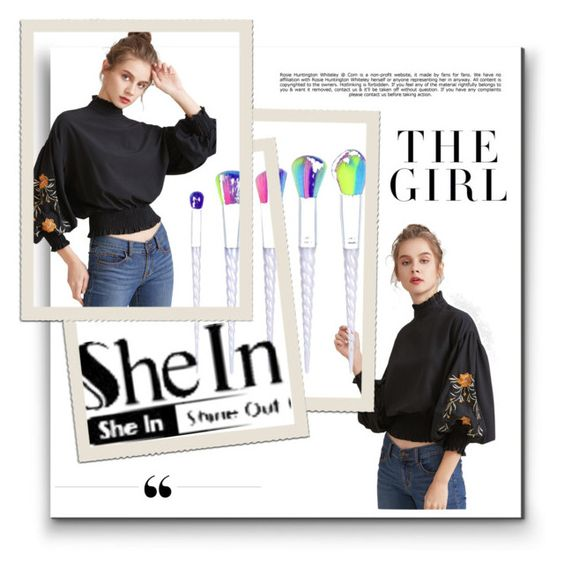 """shein contest"" by sajra123 ❤ liked on Polyvore featuring Whiteley and Kershaw"