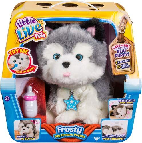 Amazon Little Live Pets Frosty My Dream Puppy Little Live Pets