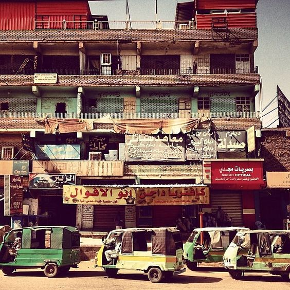 everydaysudan's photo on Instagram - cityscape of omdurman khartoum sudan